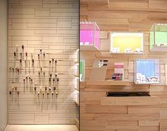Brosway flagship store by Stefano Sagripanti & Brosway, Milan – Italy Creative Shadows #Store #lighting 2014 EuroShop Lighting Trends: https://www.sishop.com.au/blog/2014-shopfitting-trends-store-lighting/