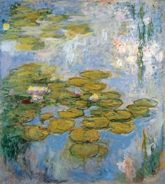 Claude Monet ~ Water Lilies, 1916-19