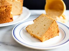 Thanks to toasted sugar, this twist on angel food cake has a subtle sweetness tempered by a caramel edge. Use quick-toasted sugar to add just a hint of caramel, or toast it up to three or for hours for a darker, bittersweet caramel flavor.