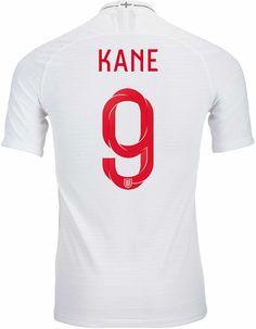 2018/19 Nike Harry Kane England Home Match Jersey. Shop at soccerpro.com