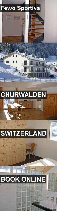 Hotel Fewo Sportiva in Churwalden, Switzerland. For more information, photos, reviews and best prices please follow the link. #Switzerland #Churwalden #FewoSportiva #hotel #travel #vacation