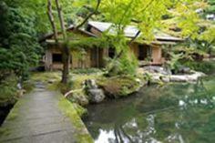 Isuitei tea house at Hashimoto Memorial Gardens in Kyoto