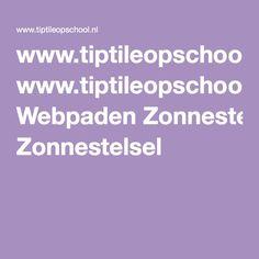 www.tiptileopschool.nl Webpaden Zonnestelsel