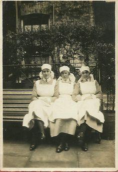 Unidentified Probationer Nurses ,St Bartholomew's Hospital c.1930s | by backmanmal