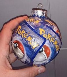 This Pokémon card ornament | Community Post: 45 Awesome Christmas Ornaments Every Video Game Lover Needs