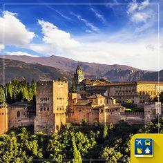 E para inspirar os viajantes neste fim de tarde nós trazemos um pedacinho especial da Espanha: o palácio de Alhambra. Uma deslumbrante construção árabe no coração da cidade de Granada e um lugar digno da série #OndeEuQueriaEstarAgora. E vocês, concordam? http://www.clubeturismo.com.br/