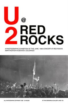 U2 @ Red Rocks (1983). This live album (Under A Blood Red Sky) rocked
