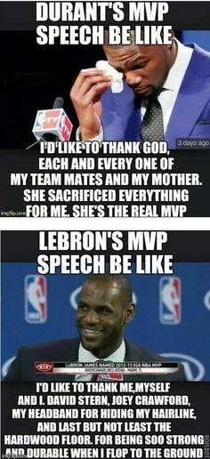 Wow lebron , on jolie is awesome other hand go KD