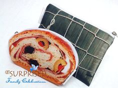 HAM BREAD CASE. Very lightweight cosmetic bag by GetSurprised