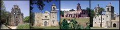 San Antonio Missions--The churches of San Antonio were the heart of the Spanish colonal mission communities.