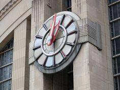 Union Terminal Clock, Cincinnati, Ohio