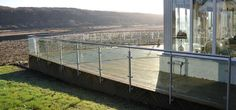 Beatiful decking, amazing views, and Abbey Glass Ballustrade.