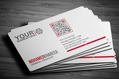 A gallery and showcase of the most beautiful business cards with QR code!