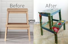 Bored for your plain furniture? Lets decoupage it! You can give a new life for it. Experience yourself hows it work by attend our class or we can do it for you. For more information, please contact cuteb1225@yahoo.com