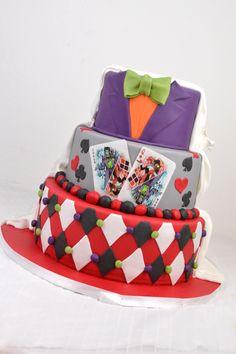 Hochzeitstorte Joker/Harlequin