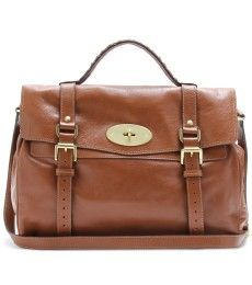 OVERSIZED ALEXA SATCHEL by Mulberry