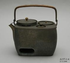 Something Japanese for Page Yula ? Portable cooking stove, metal / bamboo, possibly used by Reverend Julian Tenison-Woods, Japan, 1886 - Powerhouse Museum Collection Cooking Stove, Cooking Tools, Japanese Style House, Campaign Furniture, Happy Kitchen, Rocket Stoves, Tea Tray, Cast Iron Cookware, Tea Ceremony