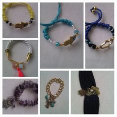 Special bracelets with hanna  #creating #gemstones #energiapositiva #jades #ópalo #turmalina #armony #sharms #cuarzos #cristales #onlyhere #bybeyoubechic #manopoderosa #amatista