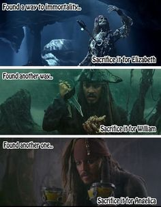 Conclusion: Captain Jack Sparrow is a freaking precious cinnamon roll that we must protect at all costs.