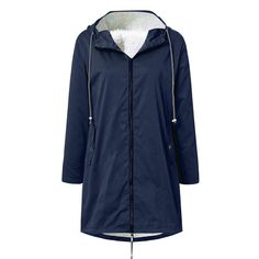 HENWERD Womens Soft Outwear Jackets Button Hoodie Long Coats Winter with Pocket