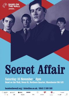 Secret Affair + The Watchmakers + Martin the Mod DJ < Events | Band on the Wall