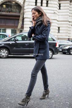 Capucine Safyurtlu ... parisians always wear neutrals