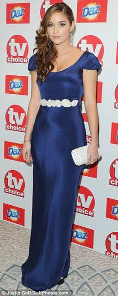 Ladylike elegance: Jacqueline Jossa #lovelyLook