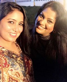 Selfie moment with my Paine @harshdeepkaurmusic