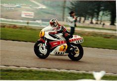 11 April 1981 - Donington Park - Barry Sheene - 500 Yamaha