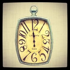 Every home needs a clock with character!  Love Hobby Lobby...and need a new clock, too!