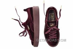http://www.getadidas.com/puma-by-rihanna-suede-creepers-velvet-burgundy-women-men-top-deals.html PUMA BY RIHANNA SUEDE CREEPERS VELVET BURGUNDY WOMEN MEN DISCOUNT Only $88.00 , Free Shipping!