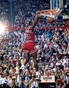 Michael Jordan - The best there will ever be in b'ball.