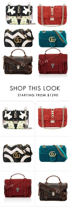 """""""Untitled #39"""" by anna-hauge ❤ liked on Polyvore featuring Valentino, Gucci and Proenza Schouler"""
