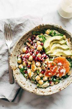 winter spa salad pinch of yum