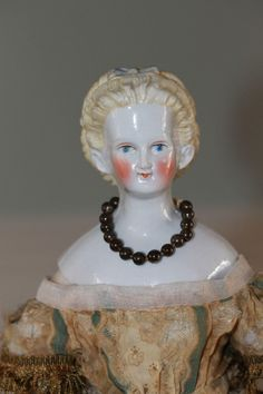 1870s China Doll Elaborate Hair 3 Piece Mold