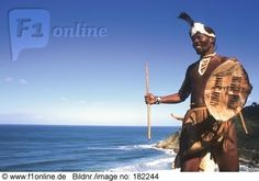 African man from Pondo tribe in traditional clothing at coast, South Africa African Men, My People, Traditional Outfits, South Africa, Coast, Around The Worlds, Nature, Image, Clothing