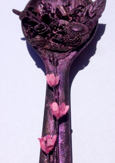 Mixed media spoon 3 @isblueart @createcraftau Create And Craft, Spoon, Mixed Media, Crafty, Inspired, Creative, Inspiration, Ideas, Upcycled Crafts