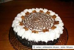 eszterházy torta,príma konyhás Tiramisu, Cake, Ethnic Recipes, Food, Kuchen, Essen, Meals, Tiramisu Cake, Torte