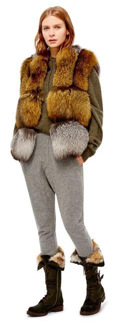 VLADIMIRO GIOIA Vladimiro Gioia Fox Fur Vest