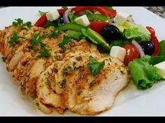 Receta facil Ensalada Griega, riquisima y saludable, tutorial de cocina. - YouTube