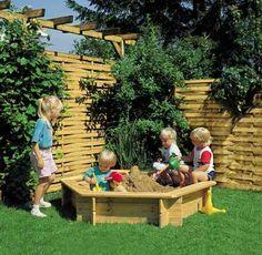 Wooden Sandbox (Sorry, no instructions)