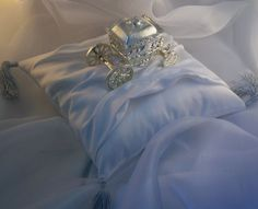 Image detail for -Glass Slipper Ring Bearer Pillow – Cinderella ... 248e52cd4e