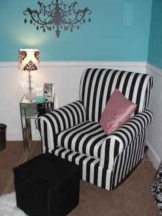 Breakfast at Tiffany's, my daughter just turned 8 and we are giving her this room she loves this movie