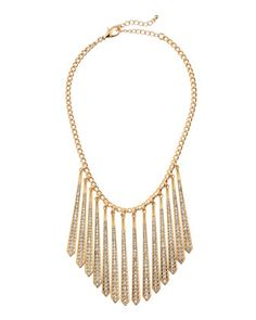 Golden Shard-Bib Necklace by Fragments at Neiman Marcus Last Call.