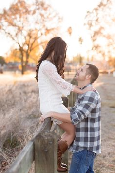 Country, shabby chic engagement session at Gibson Ranch in Sacramento by TréCreative Field Engagement Photos, Country Engagement Pictures, Beach Engagement, Engagement Couple, Engagement Session, Photography And Videography, Couple Photography, Engagement Photography, Wedding Photography