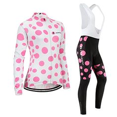 2d3723330 3D padTypeSetWhite Bib sizeL perspiration Jerseys performance vest Women  Cycling Sleeve breathable Jersey Long New windbreaker     You can find more  details ...