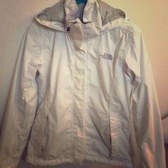 The North Face Resolve Jacket *No trades* Used White The North Face Resolve Jacket. North Face Jackets & Coats