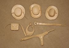 Marx Jane Josie West 3 Hats+Accessories Johnny West Best Of The West BIn Lo Ship