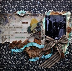 """Family"" by Tatiana Yemelyanenko - C'est Magnifique March 2015 Kit"