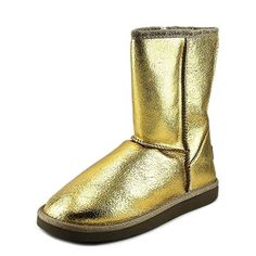 Ukala Evie Low Women US 8 Gold Winter Boot *** This is an Amazon Affiliate link. Click on the image for additional details.